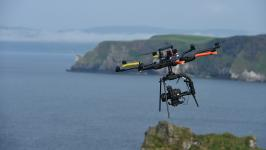Heavy lift drone in Northern Ireland
